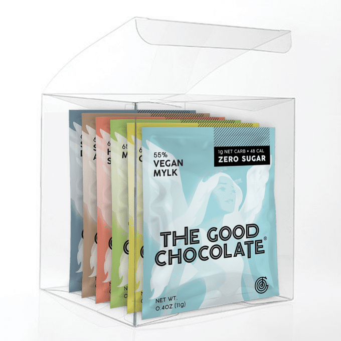 Vegan Chocolate Variety 6-pack